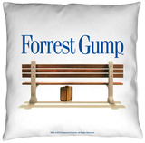Forrest Gump - Bench Throw Pillow Throw Pillow