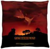 Gone With The Wind - Sunset Throw Pillow Throw Pillow