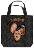 Three Stooges - Stooges All Over Tote Bag Tote Bag