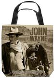 John Wayne - Stoic Cowboy Tote Bag Tote Bag