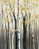 Golden Birch I Prints by Marilyn Hageman