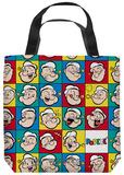 Popeye - Many Moods Tote Bag Tote Bag