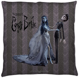 Corpse Bride - Bride And Groom Throw Pillow Throw Pillow