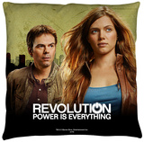 Revolution - Dark City Throw Pillow Throw Pillow
