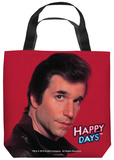 Happy Days - Red Fonz Tote Bag Tote Bag