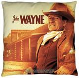 John Wayne - Old West Throw Pillow Throw Pillow