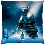 Polar Express - Poster Throw Pillow Throw Pillow