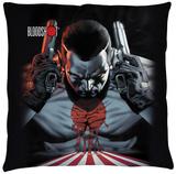 Bloodshot - Guns Drawn Throw Pillow Throw Pillow