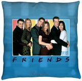 Friends - Skyline Throw Pillow Throw Pillow