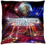 Saturday Night Fever - Dance Floor Throw Pillow Throw Pillow