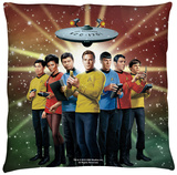 Star Trek - Original Crew Throw Pillow Throw Pillow