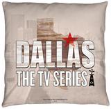 Dallas - Logo Throw Pillow Throw Pillow