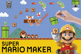Super Mario Maker Pósters