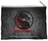 Mortal Kombat X - Stone Logo Zipper Pouch Zipper Pouch