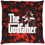 Godfather - Logo Throw Pillow Throw Pillow