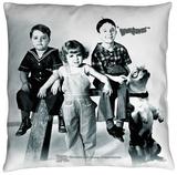 Little Rascals - The Gang Throw Pillow Throw Pillow