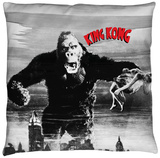 King Kong - Kong And Ann Throw Pillow Throw Pillow