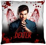 Dexter - Blood Never Lies Throw Pillow Throw Pillow