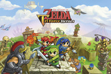 The Legend of Zelda- Triforce Heroes Print