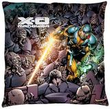 Xo Manowar - Legion Throw Pillow Throw Pillow