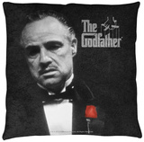 Godfather - Poster Throw Pillow Throw Pillow