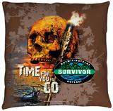 Survivor - Time To Go Throw Pillow Throw Pillow