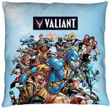 Valiant - Group Attack Throw Pillow Throw Pillow