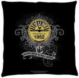 Sun Records - Rockin Scrolls Throw Pillow Throw Pillow