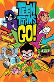 Teen Titans Go!- Character Charge Kunstdrucke
