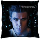 Vampire Diaries - Stefan Eyes Throw Pillow Throw Pillow
