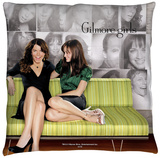 Gilmore Girls - Couch Throw Pillow Throw Pillow