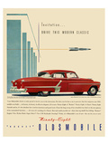 GM Oldsmobile - Modern Classic Prints