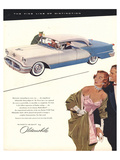 GM Oldsmobile - the Fine Line Affiches