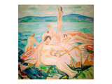 In the Height of the Summer, 1915 Giclee Print by Edvard Munch