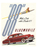 GM Oldsmobile - Make a Date Poster