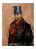 Julius Meier-Graefe, 1895 Giclee Print by Edvard Munch