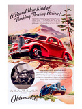 GM Oldsmobile - Flowing Action Posters