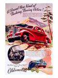 GM Oldsmobile - Flowing Action Art