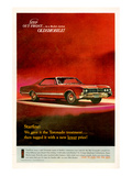 GM Oldsmobile - Step Out Front Posters
