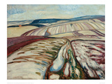 Thaw, 1906 Giclee Print by Edvard Munch