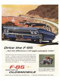 GM Oldsmobile - Drive the F-85 Print