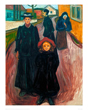 The Four Ages of Life, 1902 Giclee Print by Edvard Munch