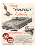 GM Oldsmobile-Firing Starfire Posters