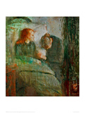 The Sick Child 2, 1896 Giclee Print by Edvard Munch