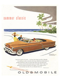 GM Oldsmobile - Summer Classic Art