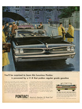 GM Pontiac - Regular Grade Gas Posters