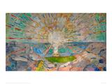 The Sun Giclee-vedos tekijänä Edvard Munch