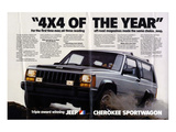 Jeep Cherokee Sportwagon Prints