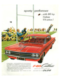 GM Oldsmobile-Sporty Performer Poster