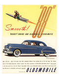 GM Oldsmobile - Rocket Engine Affiche